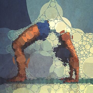 Yoga art 15 by john-dalton