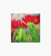 Cactus Flowers Art Board Print