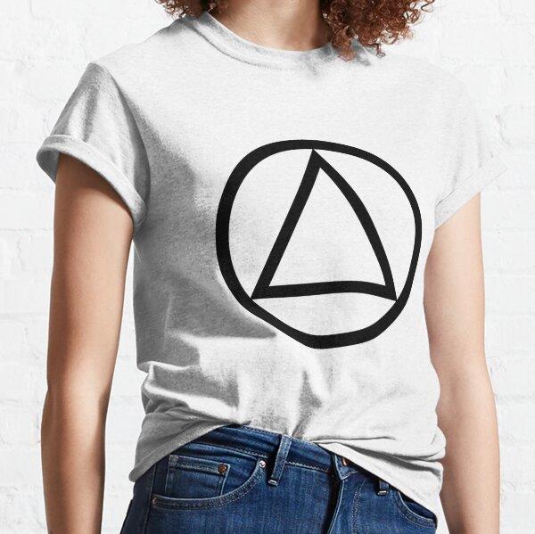 Recovery Symbol - AA, NA, CA, CMA Classic T-Shirt
