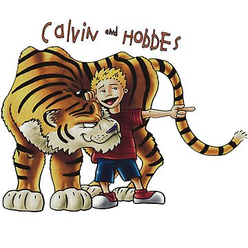 calvin and hobbes by Eskridge
