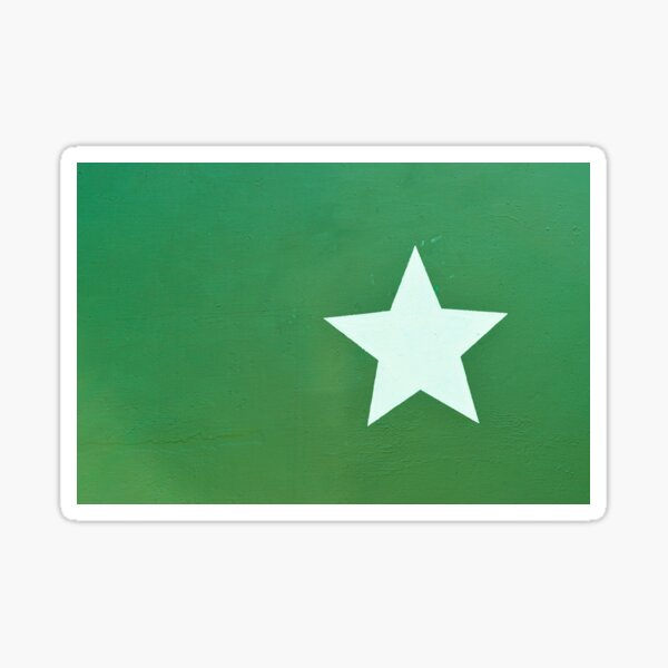 Military Star Sticker