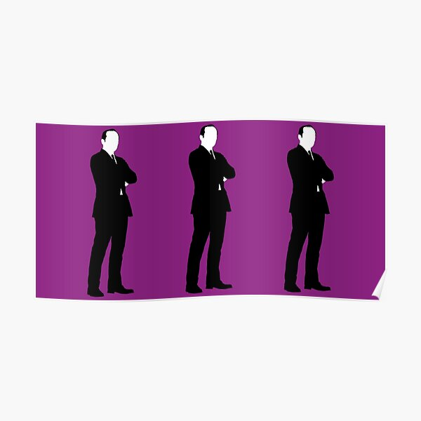 Purple Coulsons Poster