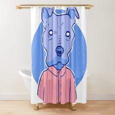 A Very Good Boy Shower Curtain