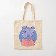 A Very Good Boy Cotton Tote Bag