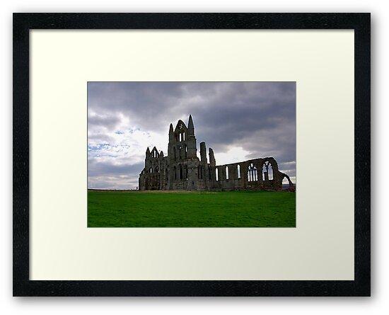Whitby Abbey #2 by Trevor Kersley