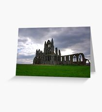 Whitby Abbey #2 Greeting Card