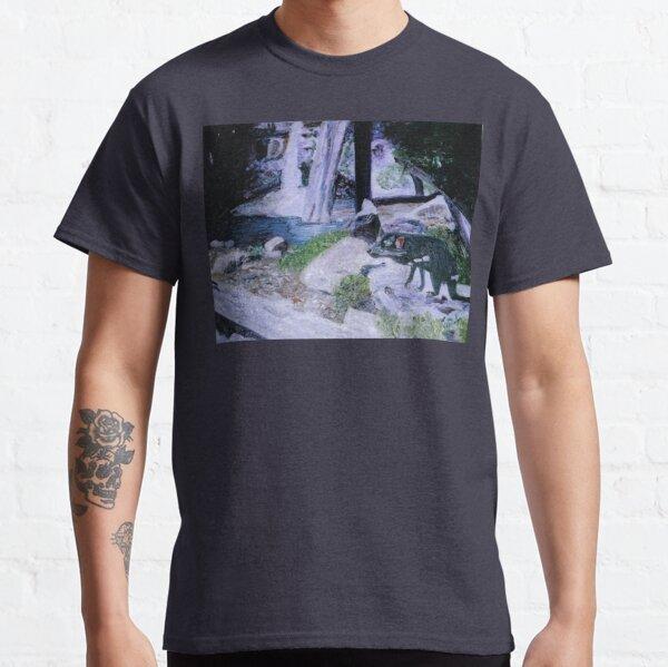 Tasmanian Devil at Snug Falls 2 Classic T-Shirt