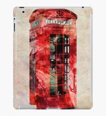 London Telephone Box Urban Art iPad Case/Skin