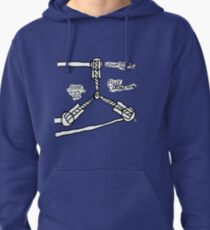 The TIME FLUX CAPACITOR!! Pullover Hoodie