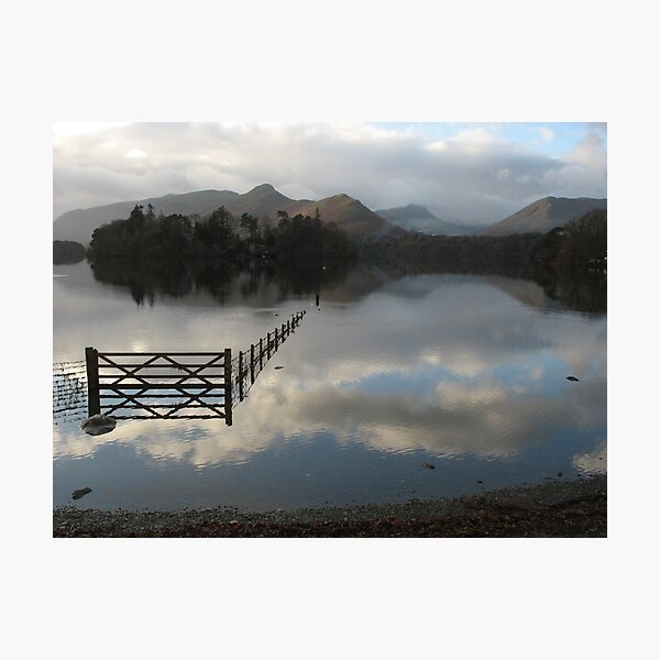 Derwentwater, from Crow Park (Lake District, UK) Photographic Print