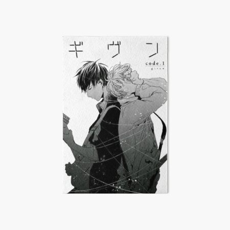 Given: Ritsuki Uenoyama and Mafuyu Sato Art Board Print