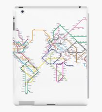 World Tube Metro Map iPad Case/Skin