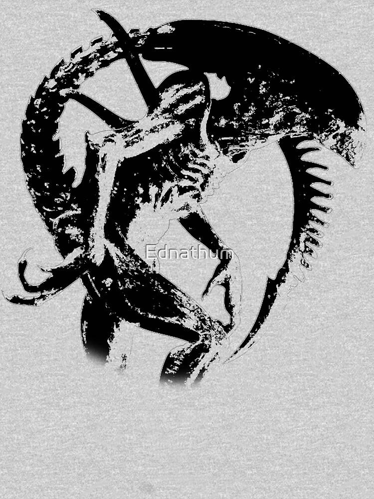 Alien Black & White | Unisex T-Shirt