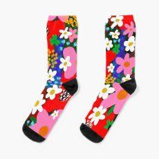 Flower Power! Sock