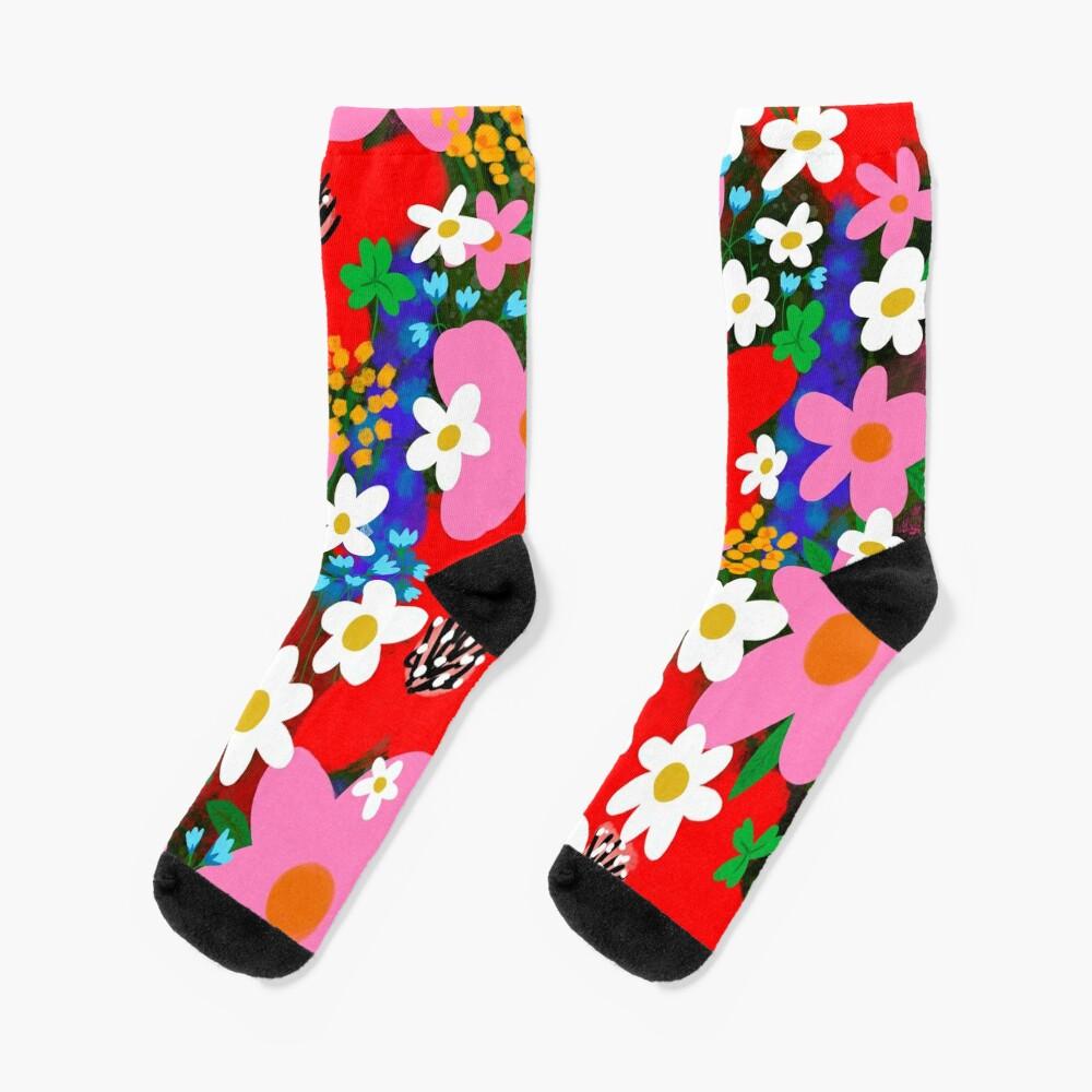 Flower Power! Socks