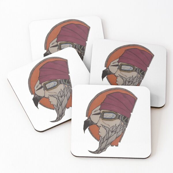 Mordecai and Bloodwing Coasters (Set of 4)