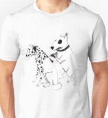 Pittbul tattooing Dalmatian Unisex T-Shirt