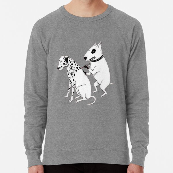 Pittbul tattooing Dalmatian Lightweight Sweatshirt