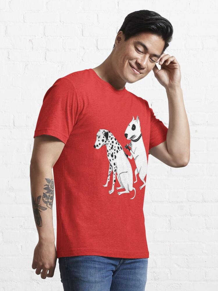 Alternate view of Pittbul tattooing Dalmatian Essential T-Shirt