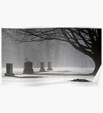 Shelter in the Fog Poster