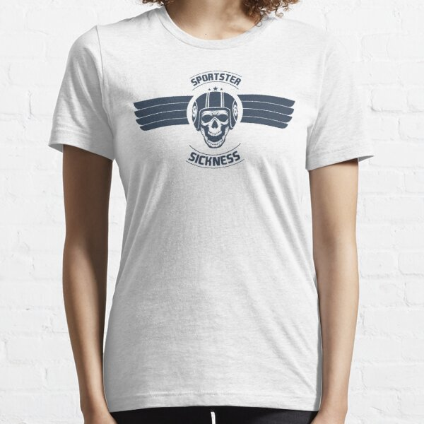 Sportster Sickness Plain White Essential T-Shirt
