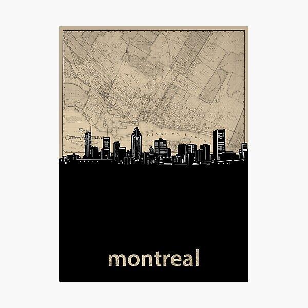 montreal skyline Photographic Print