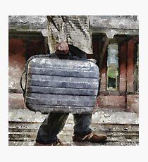 Traveling Man Photographic Print
