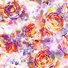 Pattern digital floral by ramanandr