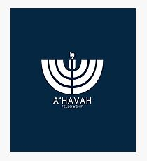 A'HAVAH FELLOWSHIP LOGO Photographic Print