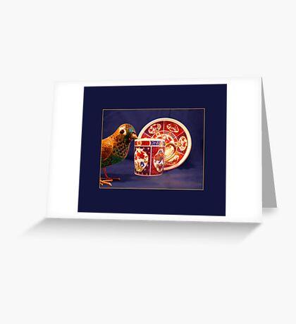 Demitasse, Oriental Greeting Card