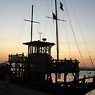 Old boat at dusk by Maria1606