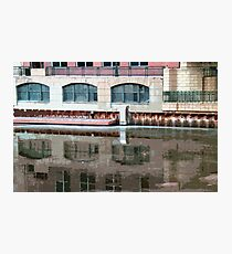 Reflection of Milwaukee River ©  Photographic Print