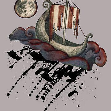 Lunar Viking Voyage by ImogenSmid