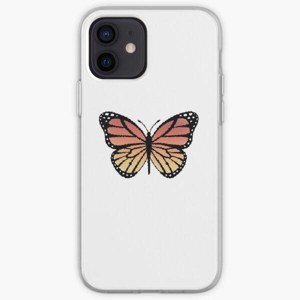 Papillon monarque Coque souple iPhone