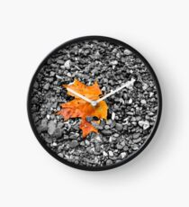 First Sign of Autumn Clock
