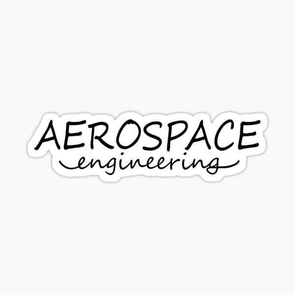 Aerospace Engineering Sticker