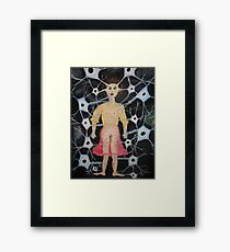Raw Nerve 1 Framed Print