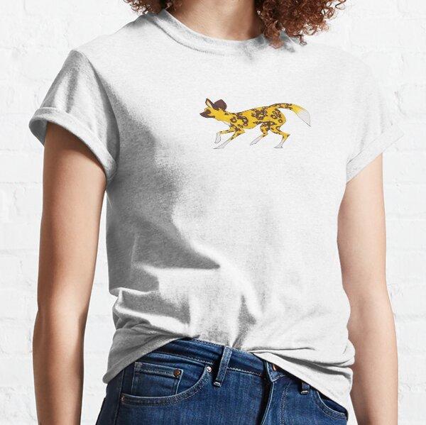 Painted Hunting Dog Running Classic T-Shirt