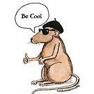Bosco the Beatnik Rat by Mark Bodhisattva Hill