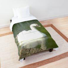 Merch #47 -- Swan - Shot 5 Comforter