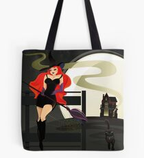 Pretty Witch. Halloween night. Tote Bag