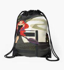 Pretty Witch. Halloween night. Drawstring Bag