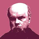 Paul Verlaine Rotes Porträt von savantdesigns