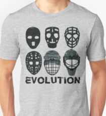 Eishockey Torwart Maske Evolution. Slim Fit T-Shirt