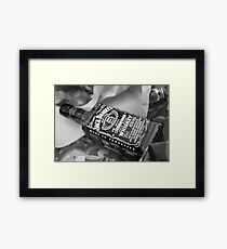 JD at Christmas Framed Print