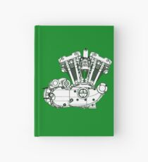 Ironhead Sportster Diagram (Black and White). Hardcover Journal