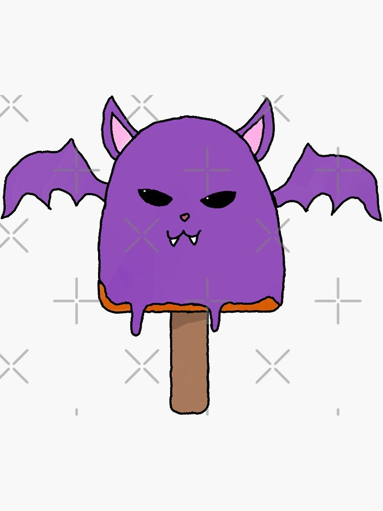 Bat ice Cream by lokisart