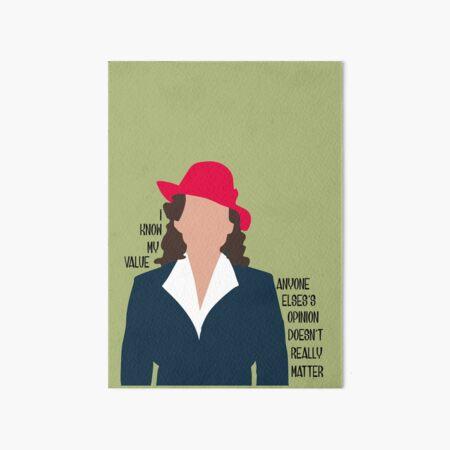 Agent Carter Art Board Print
