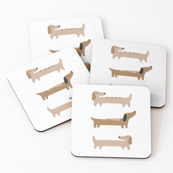 Home Decor - Dachshund Coasters (Set of 4)