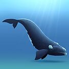 North Atlantic Right Whale by Tami Wicinas